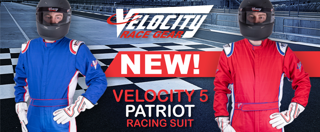 Velocity 5 Patriot Suits