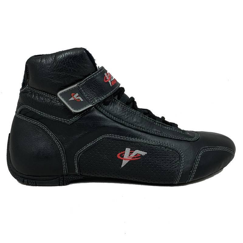 Flexible Leather Red Hightop Racing Shoes 13.5 SFI 3.3//5