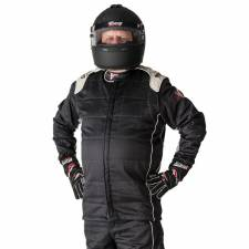 Velocity Race Gear - Velocity Pro Stock Pant (Only) - Black/Silver