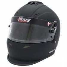 Velocity Race Gear - Velocity 15 Helmet - Flat Black - Medium