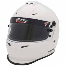 Velocity Race Gear - Velocity 15 Helmet - White - Medium