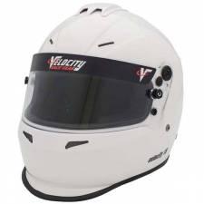 Velocity Race Gear - Velocity 15 Helmet - White - Small