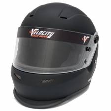 Velocity Race Gear - Velocity 15 Youth Helmet - Flat Black