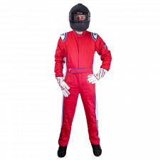 Velocity Race Gear - Velocity 5 Patriot Suit - Red/White/Blue - Small