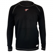 Velocity Race Gear - Velocity Tech Layer Top - Black - Long Sleeve - Large