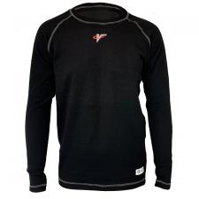 Velocity Race Gear - Velocity Tech Layer Top - Black - Long Sleeve - X-Large