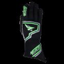 Velocity Fusion Glove - Black/Fluo Green/Silver 61019-189