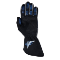 Velocity Fusion Glove - Black/Silver/Blue 61019-194