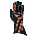 Velocity Grip Glove - Black/Fluo Orange/Silver 60919-169