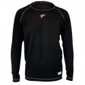 Underwear - Velocity Race Gear - Velocity Tech Layer Top - Black - Long Sleeve