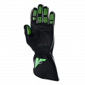 Velocity Race Gear - Velocity Fusion Glove - Black/Fluo Green/Silver - Large - Image 3