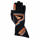 Velocity Race Gear - Velocity Fusion Glove - Black/Fluo Orange/Silver - Medium - Image 2