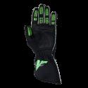 Velocity Race Gear - Velocity Fusion Glove - Black/Fluo Green/Silver - Small - Image 3