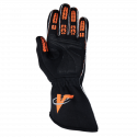 Velocity Race Gear - Velocity Fusion Glove - Black/Fluo Orange/Silver - Small - Image 3