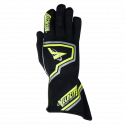 Velocity Race Gear - Velocity Fusion Glove - Black/Fluo Yellow/Silver - Small - Image 2
