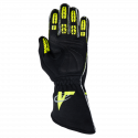 Velocity Race Gear - Velocity Fusion Glove - Black/Fluo Yellow/Silver - Small - Image 3