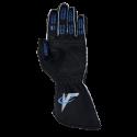 Velocity Race Gear - Velocity Fusion Glove - Black/Silver/Blue - Large - Image 3