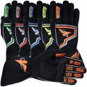 Velocity Race Gear - Velocity Fusion Glove - Black/Silver/Blue - Large - Image 4