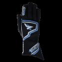 Velocity Race Gear - Velocity Fusion Glove - Black/Silver/Blue - Small - Image 2