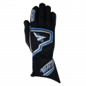 Velocity Race Gear - Velocity Fusion Glove - Black/Silver/Blue - XX-Large - Image 2