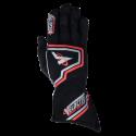 Velocity Race Gear - Velocity Fusion Glove - Black/Silver/Red - Medium - Image 2