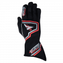 Velocity Race Gear - Velocity Fusion Glove - Black/Silver/Red - Small - Image 2