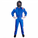 Velocity Race Gear - Velocity 5 Patriot Suit - Blue/White/Red - Large - Image 3