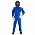 Velocity Race Gear - Velocity 5 Patriot Suit - Blue/White/Red - Medium