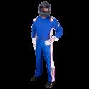 Velocity Race Gear - Velocity 5 Patriot Suit - Blue/White/Red - Medium/Large - Image 2
