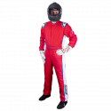 Velocity Race Gear - Velocity 5 Patriot Suit - Red/White/Blue - Large - Image 3
