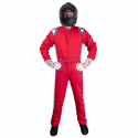 Velocity Race Gear - Velocity 5 Patriot Suit - Red/White/Blue - XX-Large - Image 2
