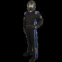 Velocity Race Gear - Velocity 5 Race Suit - Black/Blue - XX-Large - Image 1