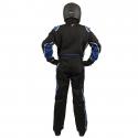 Velocity Race Gear - Velocity 5 Race Suit - Black/Blue - XXX-Large - Image 4