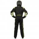 Velocity Race Gear - Velocity 5 Race Suit - Black/Fluo Yellow - Large - Image 4