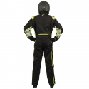 Velocity Race Gear - Velocity 5 Race Suit - Black/Fluo Yellow - XX-Large - Image 4