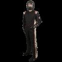 Velocity Race Gear - Velocity 5 Race Suit - Black/Silver - Large - Image 1