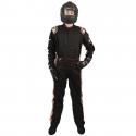 Velocity Race Gear - Velocity 5 Race Suit - Black/Silver - XX-Large - Image 3