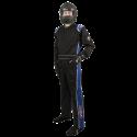 Featured Products - Velocity Race Gear - Velocity 1 Sport Suit - Black/Blue - Medium/Large
