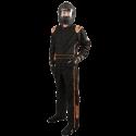 Featured Products - Velocity Race Gear - Velocity 1 Sport Suit - Black/Fluo Orange - Medium