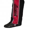 Velocity Race Gear - Velocity 1 Sport Suit - Black/Fluo Orange - X-Large - Image 5