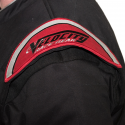 Velocity Race Gear - Velocity 1 Sport Suit - Black/Silver - Large - Image 6