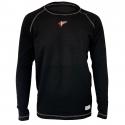 Underwear - Velocity Race Gear - Velocity Tech Layer Top - Black - Long Sleeve - Small